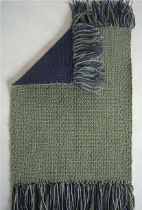 Double Weave: stitched