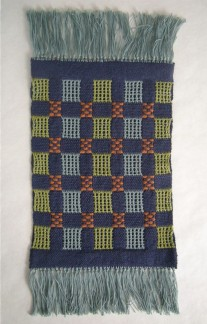 Weaver Controlled Double Weave